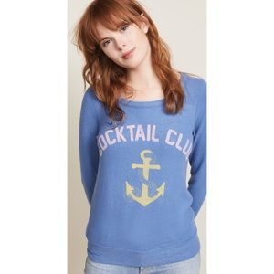 Chaser Cocktail Club Pullover Sweater